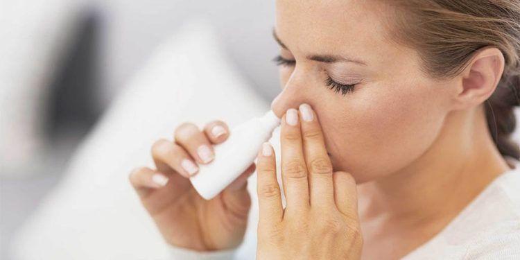 Spray para la congestión nasal