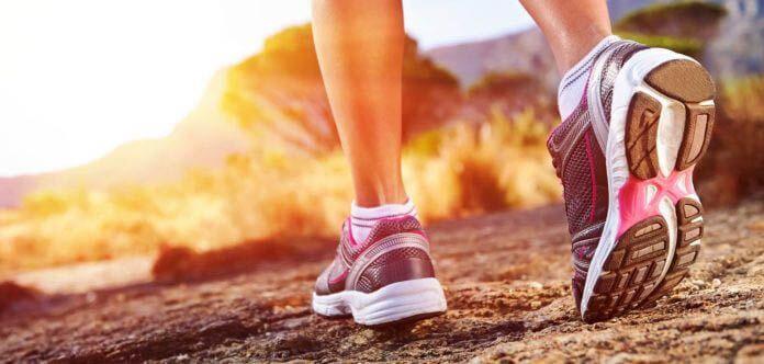 Caminar para ponerse en forma