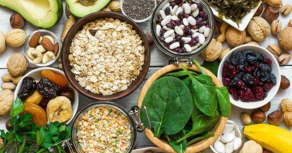 Alimentos que contienen potasio