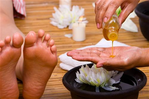 Aceites esenciales para el mal olor en los pies