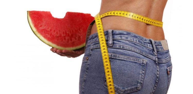 Propiedades nutricionales de la sandia para adelgazar