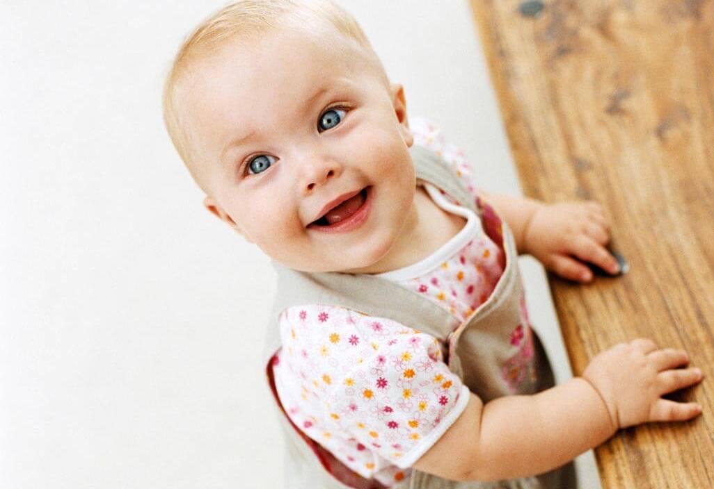 bebé de diez meses