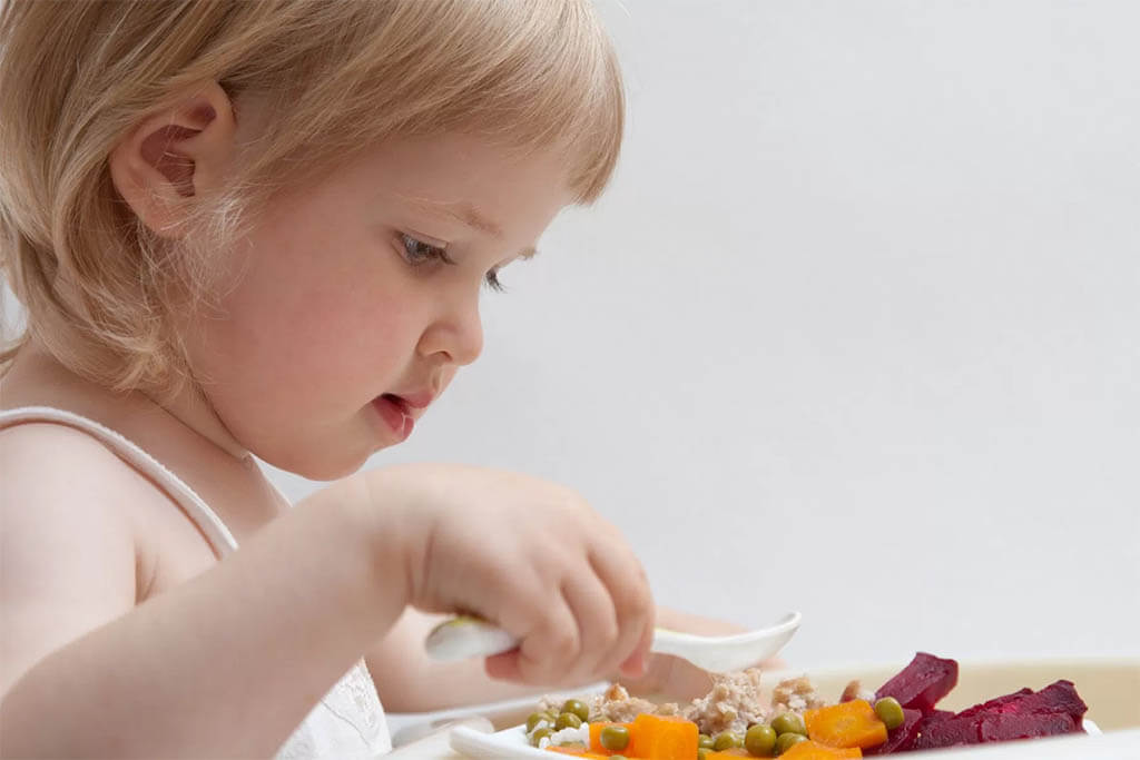 Alimentación a los dos años