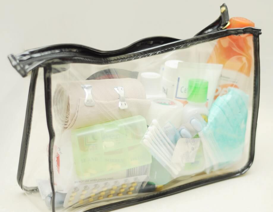 Cómo embalar medicamentos para viajar