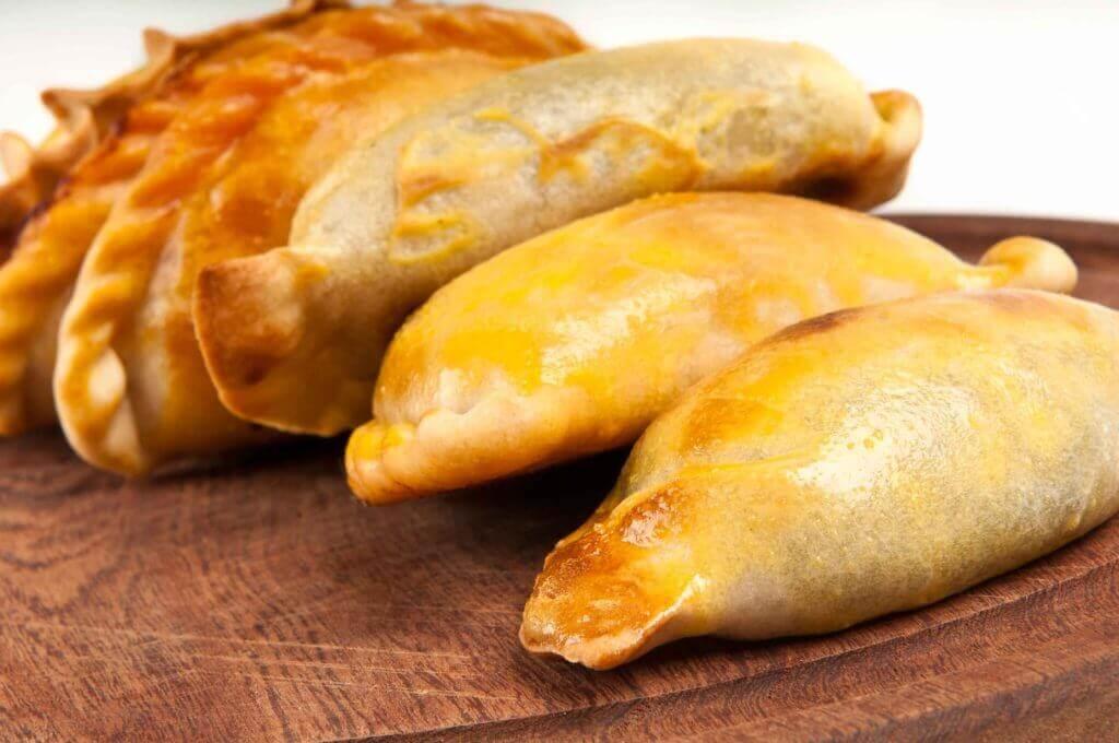 Empanadas libres de gluten aptas para celíacos