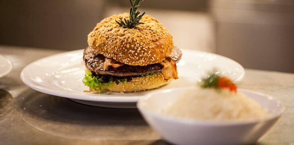 Hamburguesa sin gluten para celiacos