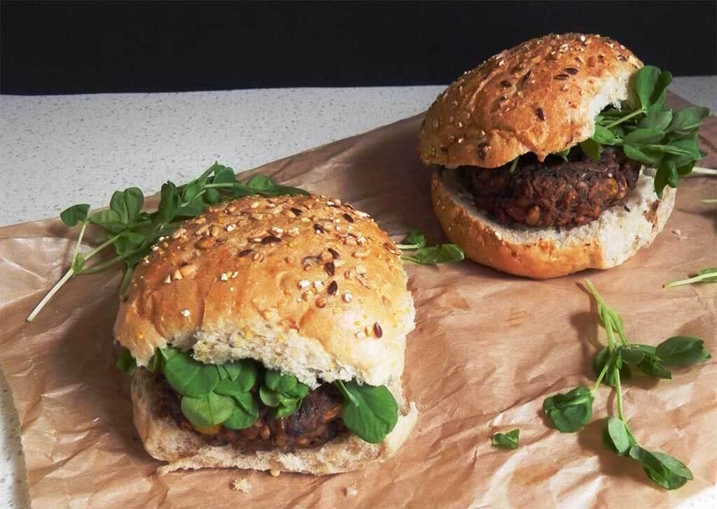 Hamburguesas vegetarianas: una opción sana para el fast food