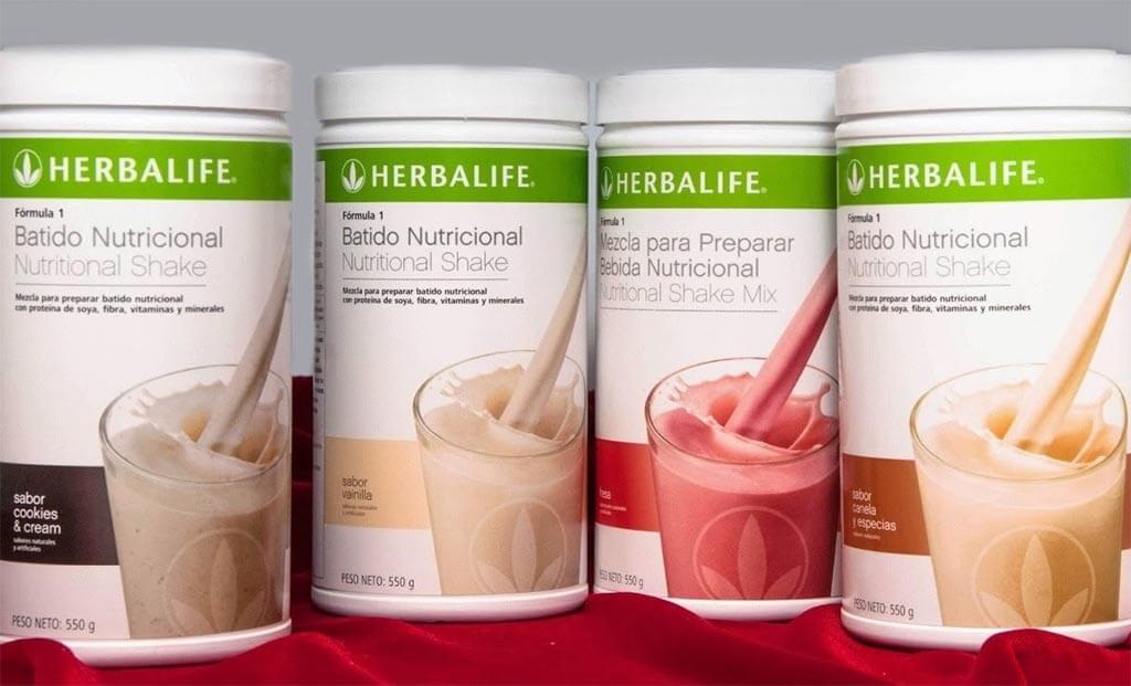 Batidos de Herbalife como complemento de tu dieta