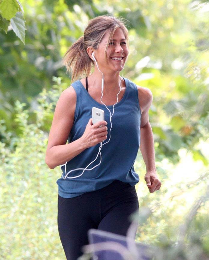 Rutina de ejercicios de Jennifer Aniston