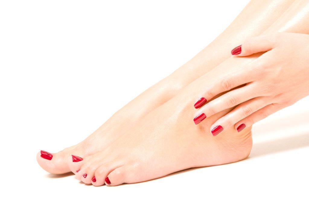 Buena higiene en los pies