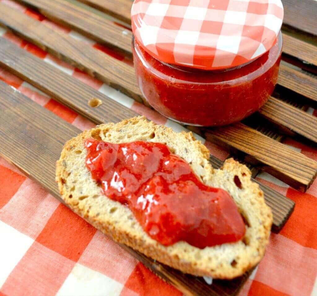 Mermelada de frutas que pueden comer personas con diabetes