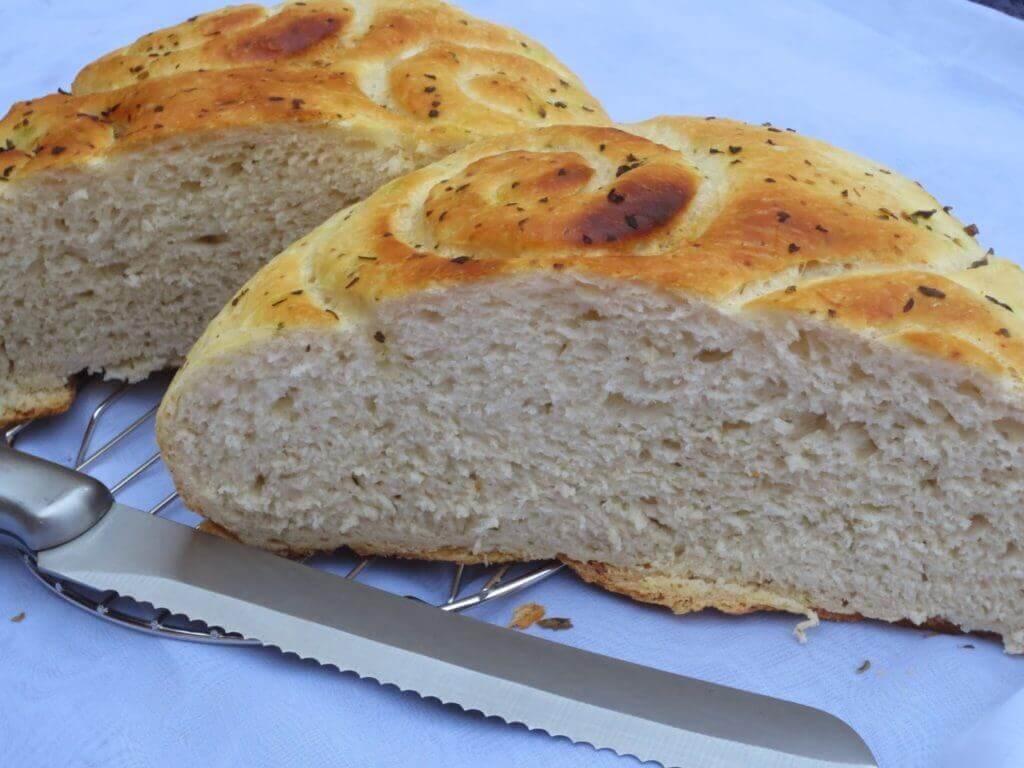 Pan de campo sin gluten para celiacos