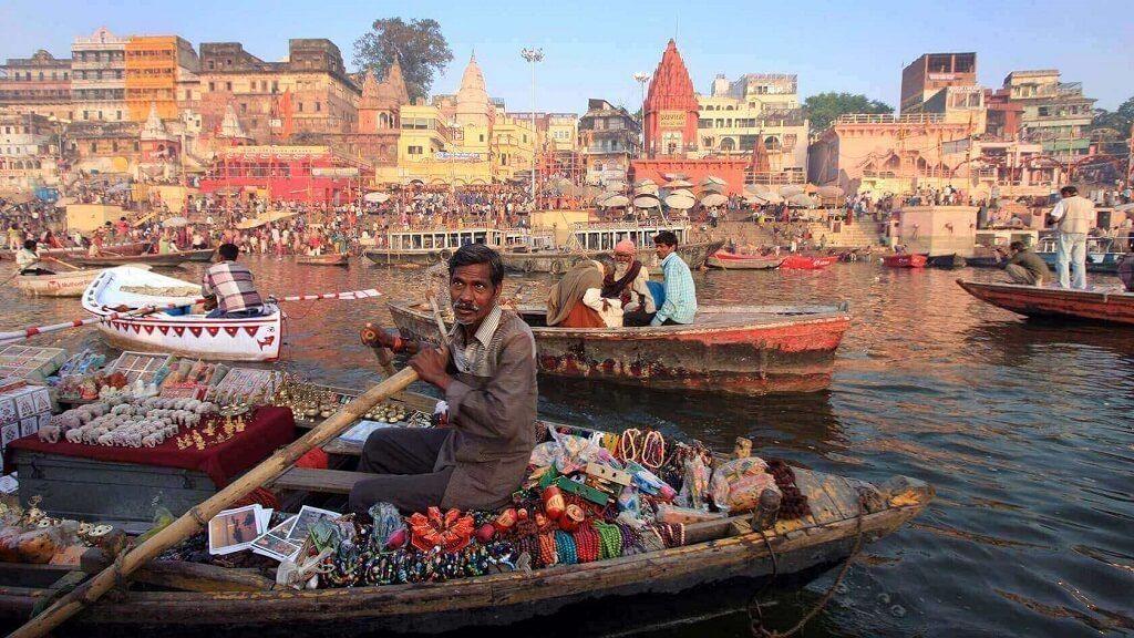 Inclusive en las grandes ciudades de India hay que tener cuidado de los problemas sanitarios