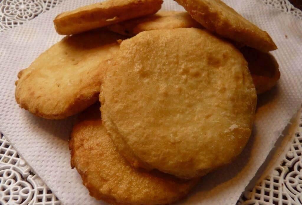 Torta frita para celiacos