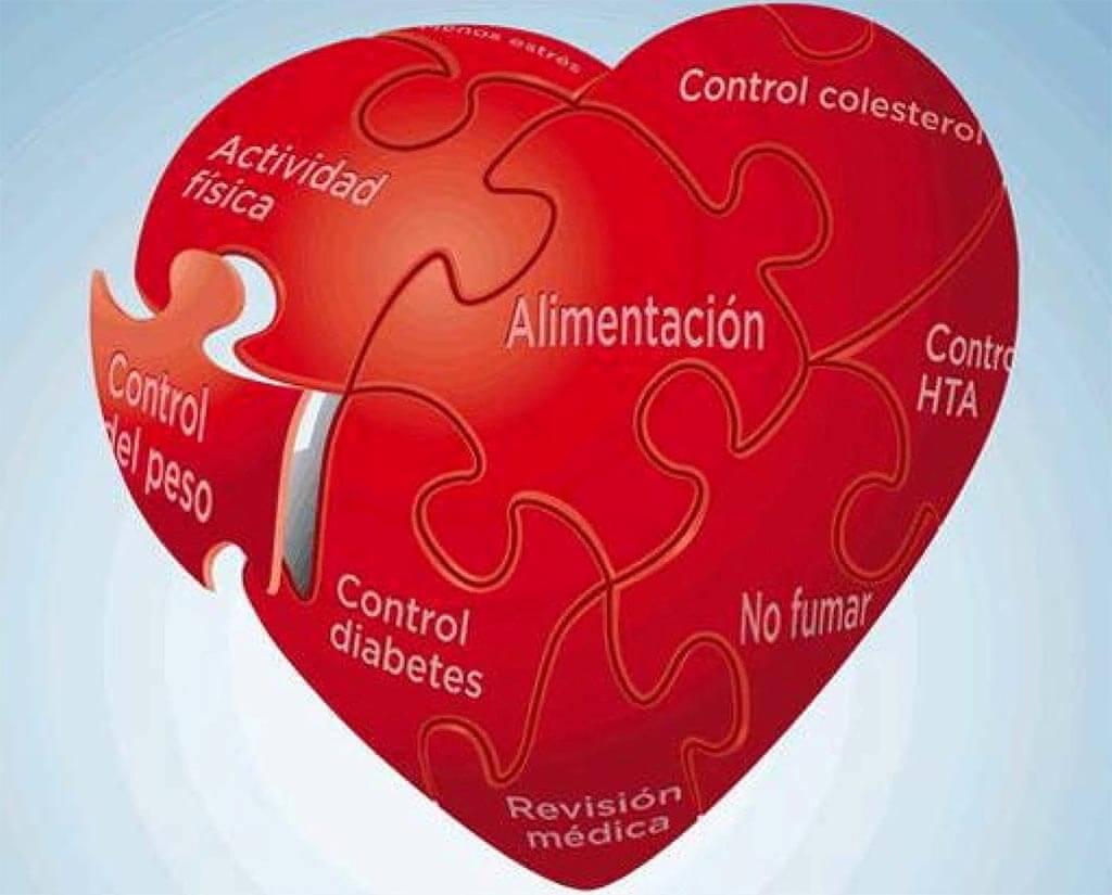 Las comidas en las enfermedades de corazón