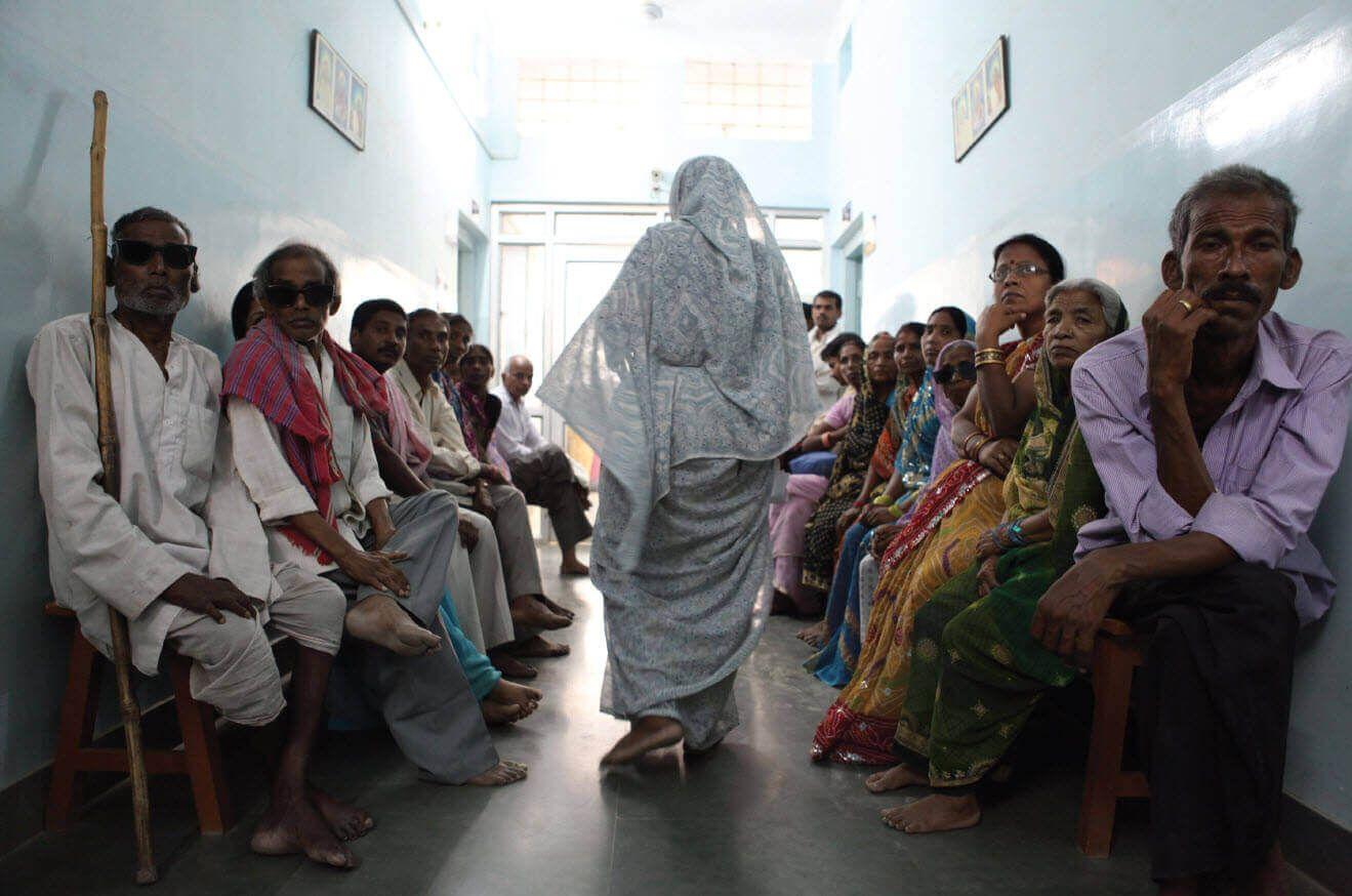 La atención sanitaria fuera de las grandes ciudades de India es deficiente