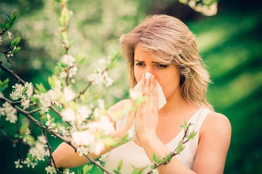 ¿Qué es la alergia al polen?