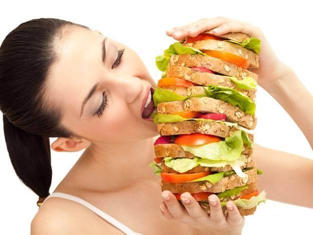 Comer mucho no es comer bien