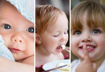 Crecimiento y desarrollo de tu bebé mes a mes
