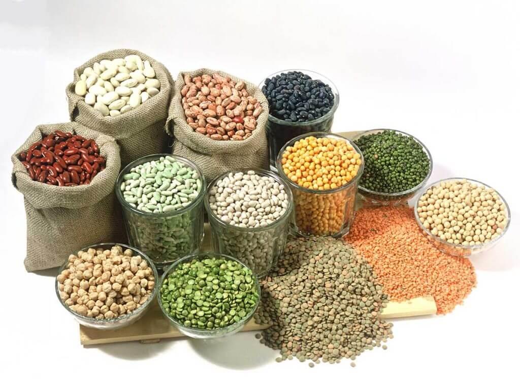 Tipos de legumbres y sus propiedades