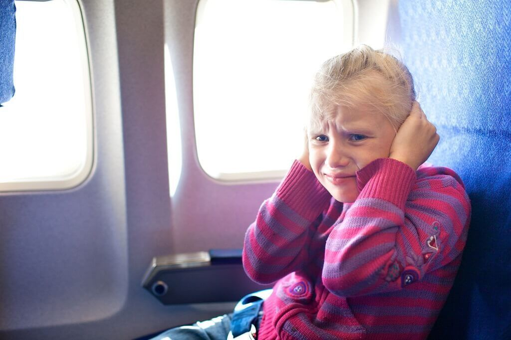 El barotrauma es muy frecuente en viajes en avión