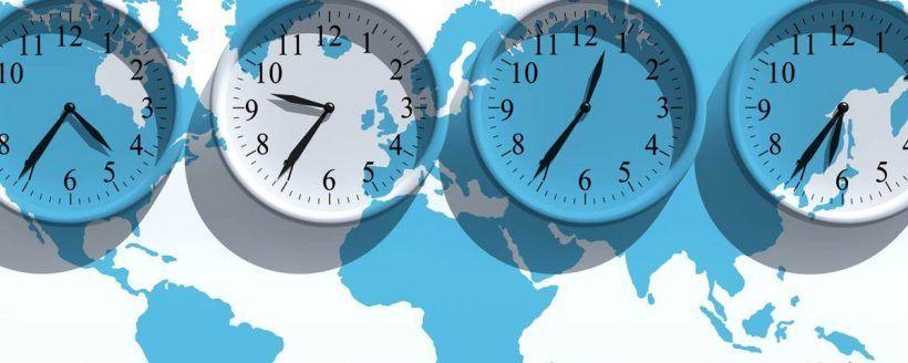 La diferencia horaria es el principal causante del jet lag
